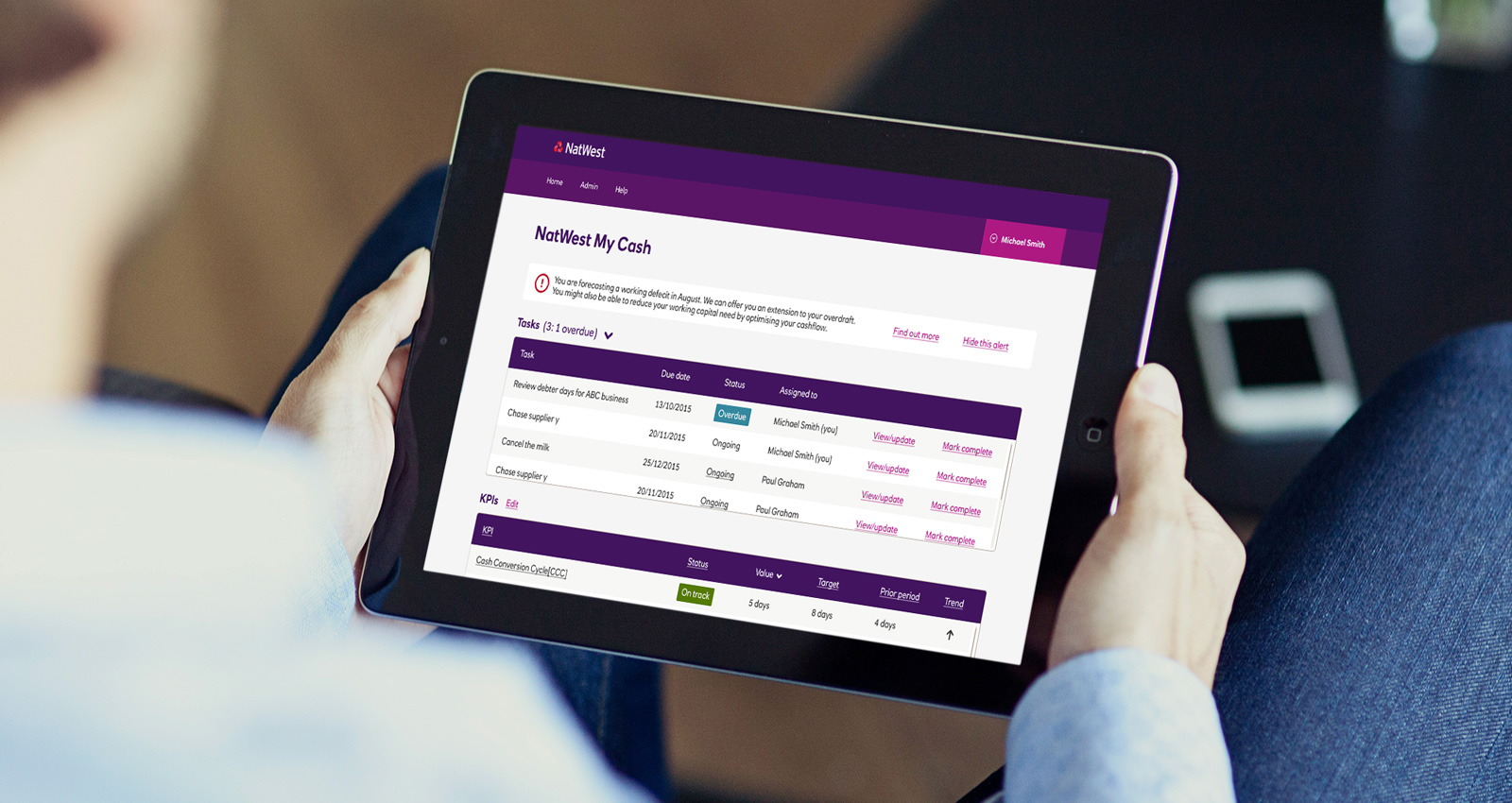 NatWest, redefining online banking for 10,000 customers